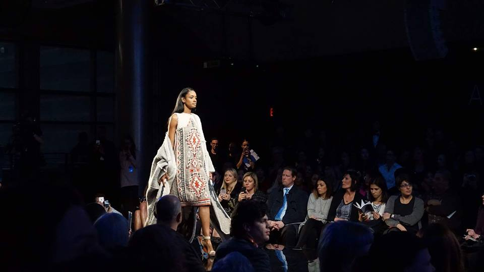 Aztec Dress - Featured in FIT's BFA Future of Fashion Show, May 2016