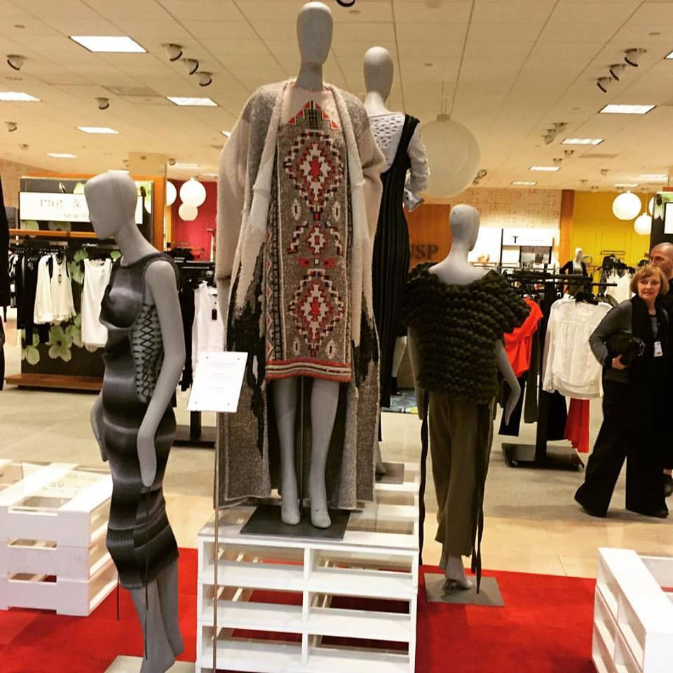 Aztec Dress - Presented inside of  Neiman Marcus  - May-July 2016