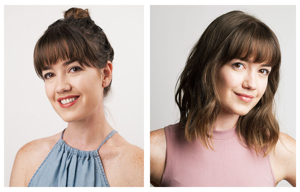 Natural looking headshots that show us what our actor really looks like.