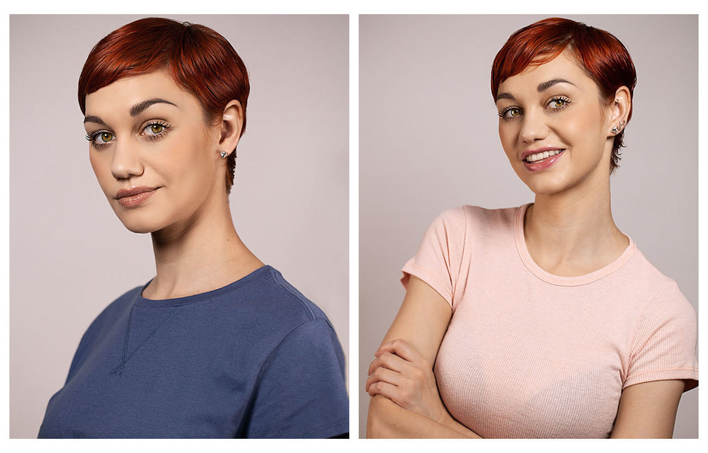 Professional headshots show you take your career seriously.