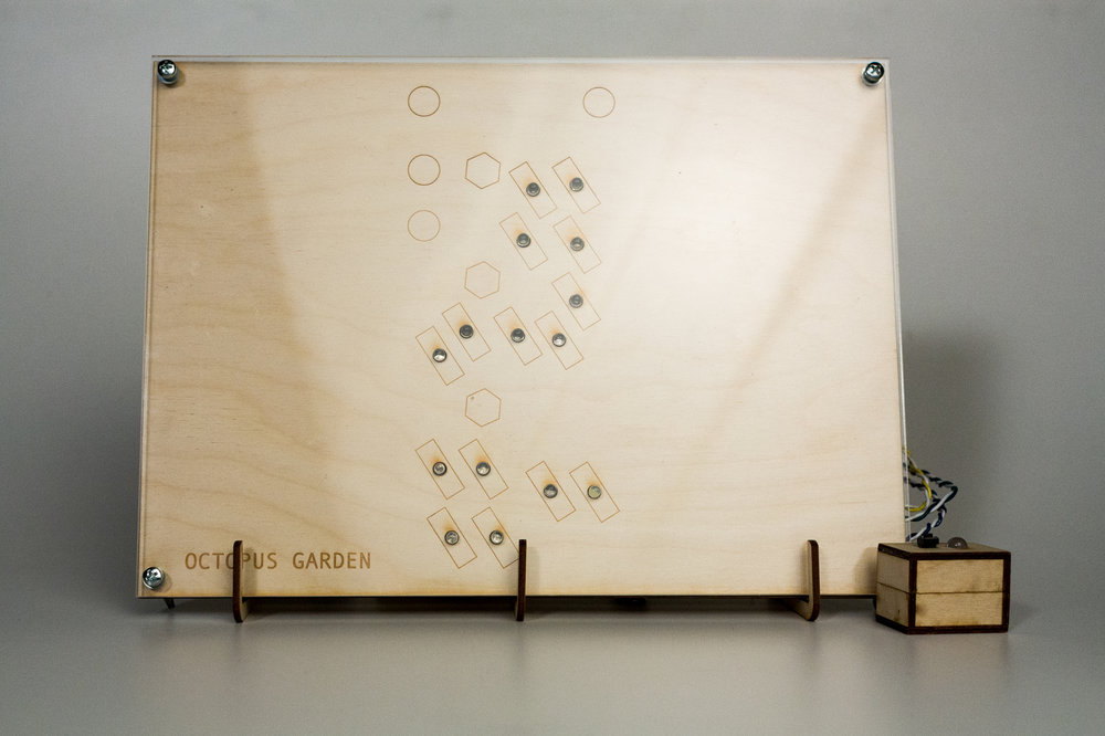 I laser cut the physical interface and programmed an Arduino for the concept demo.