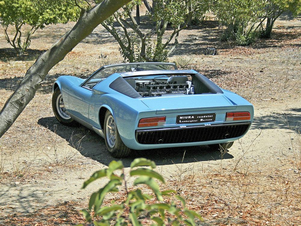 Lamborghini Miura Roadster The Mythical Bull Jack Shepherdson