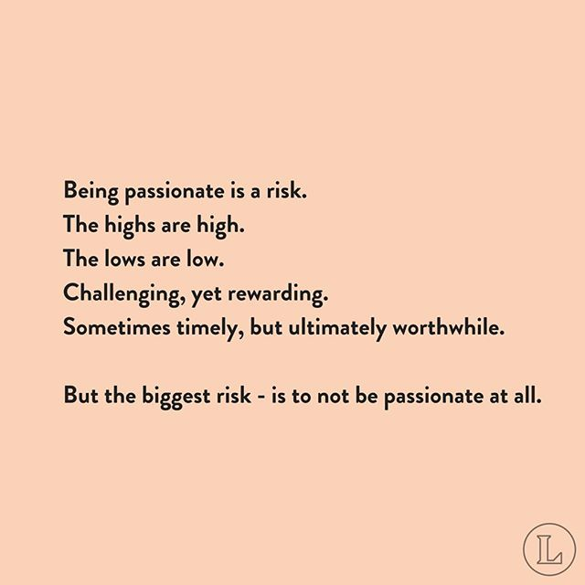 Risks are worth taking. 👌🏻🙌✨ #theleaguewomen #passion #risktaker