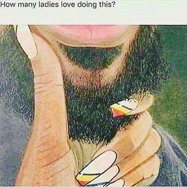 Guilty 👀🤷🏽♀️😍 #beardedmen #isthisafetish #beard