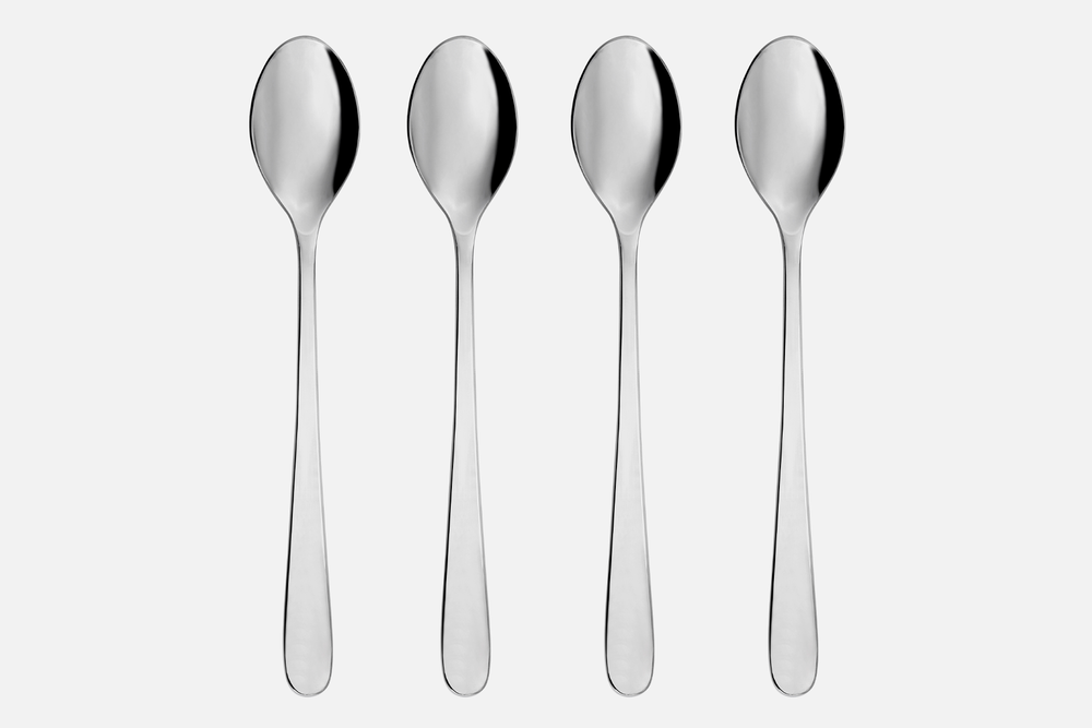 Café latte spoon, shiny - 4 pcsStainless steelDesign by eb design teamArt. no.: 90123