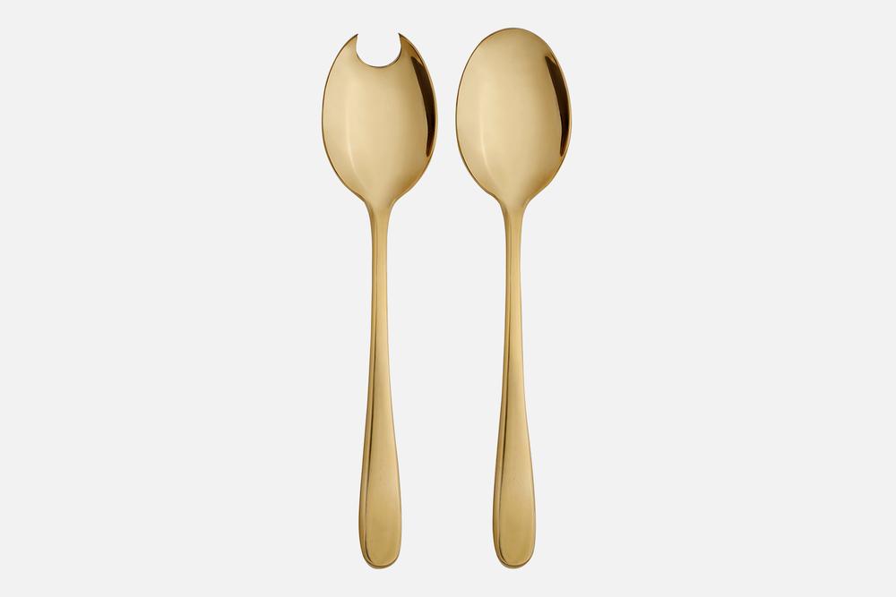 Salatbestik guld - 1 sætRustfrit stålDesign by eb design teamArt. nr.: 90134