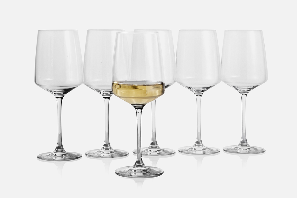 White wine glass - 6 pcs, 40 clGlassDesign by eb design teamArt. no.: 90201