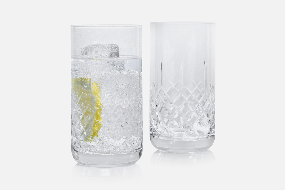 Lounge highball glas - 2 stk, 39 clBlyfrit krystal glasDesign by eb design teamArt. nr.: 90232