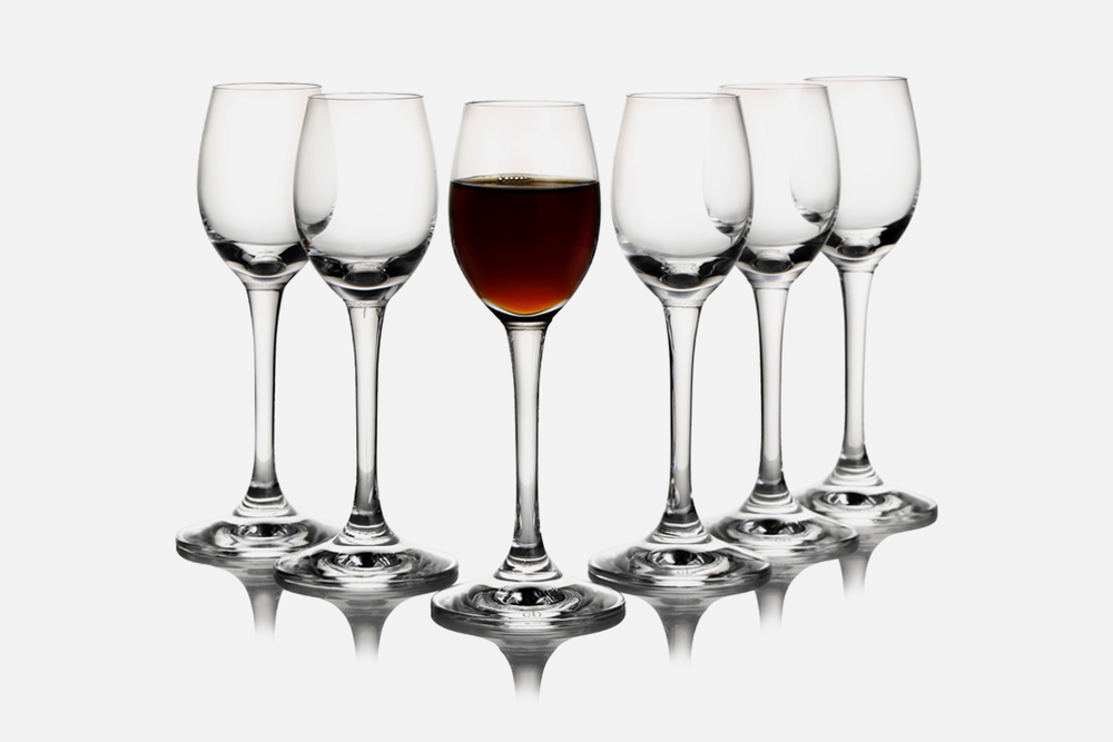 Dessert wine glass - 6 pcs, 7 clGlassDesign by eb design teamArt. no.: 50403