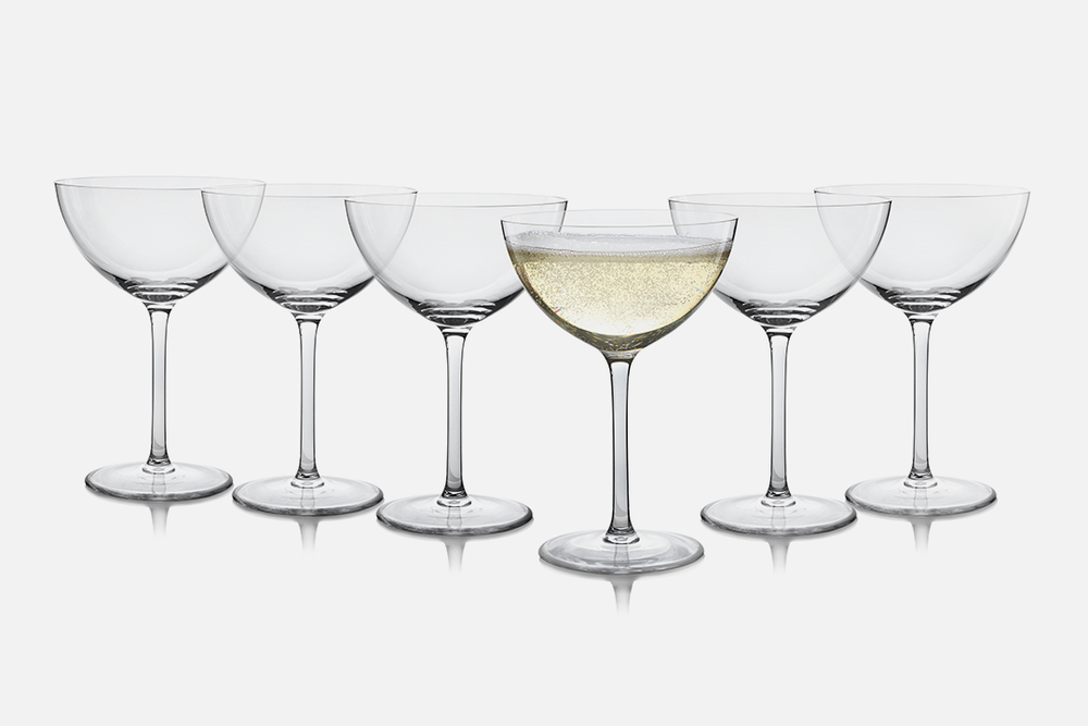 Champagne coupe - 6 pcs, 35 clGlassDesign by eb design teamArt. no.: 50407