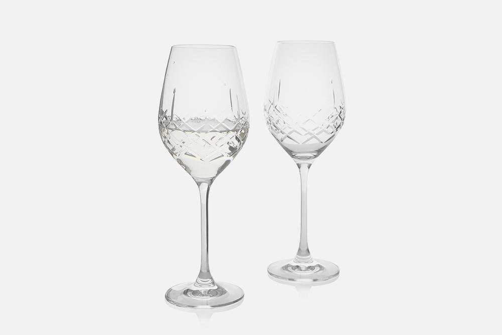 Hvidvinsglas - 2 stk, 36 clBlyfrit krystal glasDesign by eb design teamArt. nr.: 90235