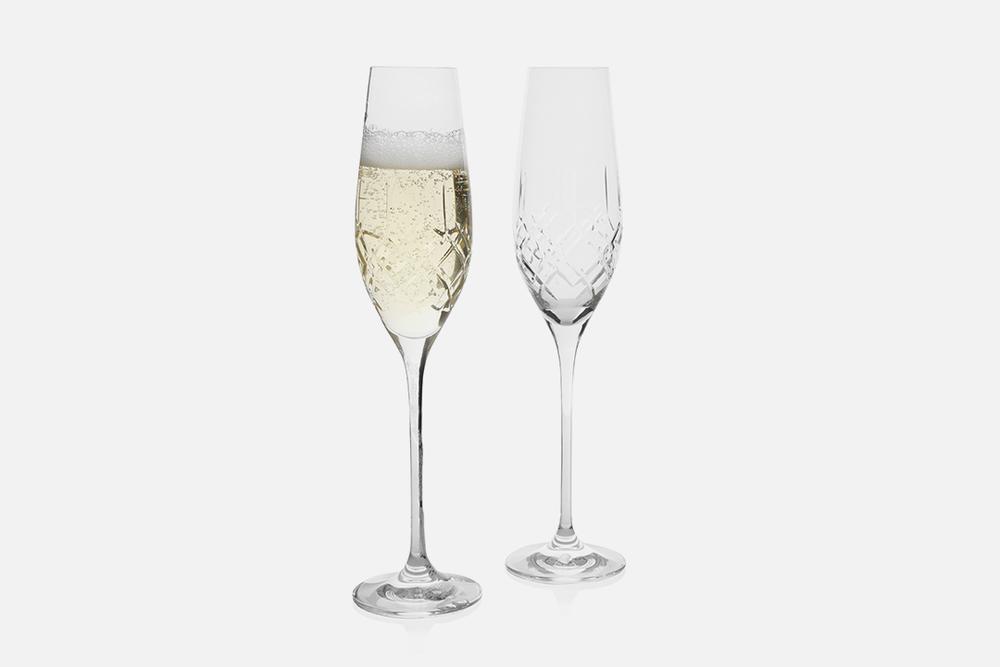 Champagneglas - 2 stk, 21 clBlyfrit krystal glasDesign by eb design teamArt. nr.: 90236