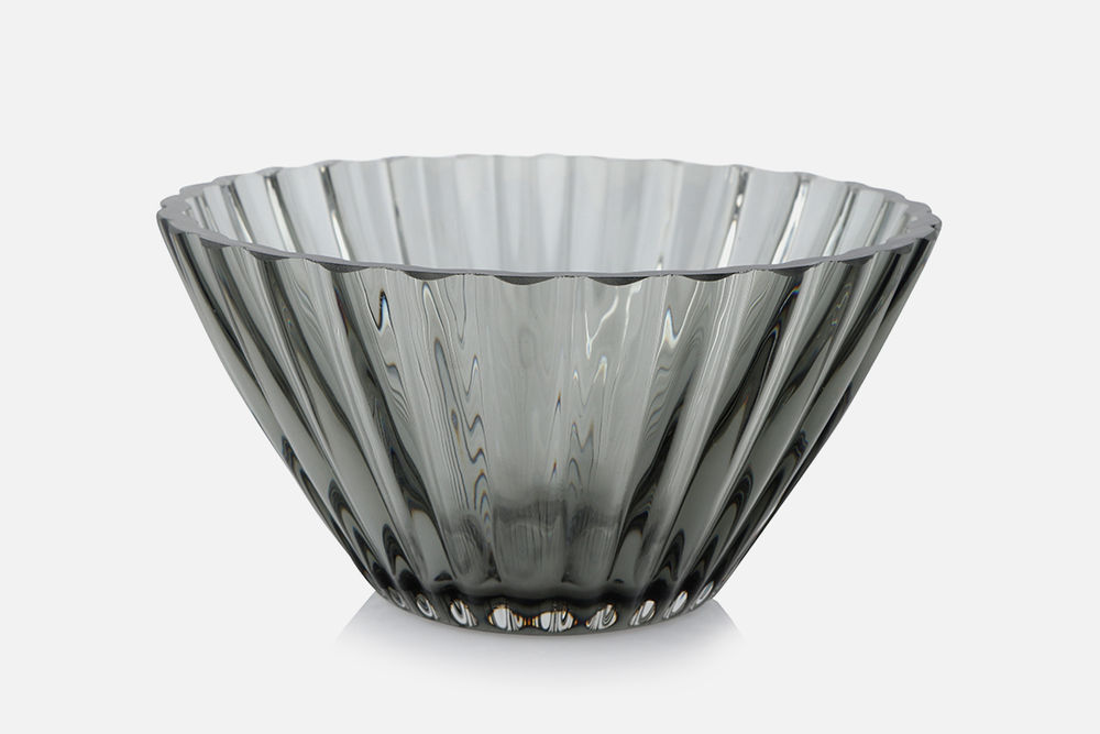 Bowl 14.5cm  - 1 pcs, 14,5 cmGlass, greyDesign by Christel og Christer HolmgrenArt. no.: 55208