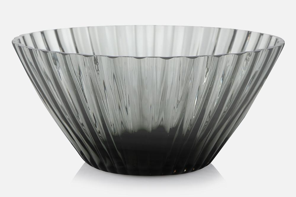 Skål - 1 stk, 20 cmGlas, gråDesign by Christel og Christer HolmgrenArt. nr.: 55210
