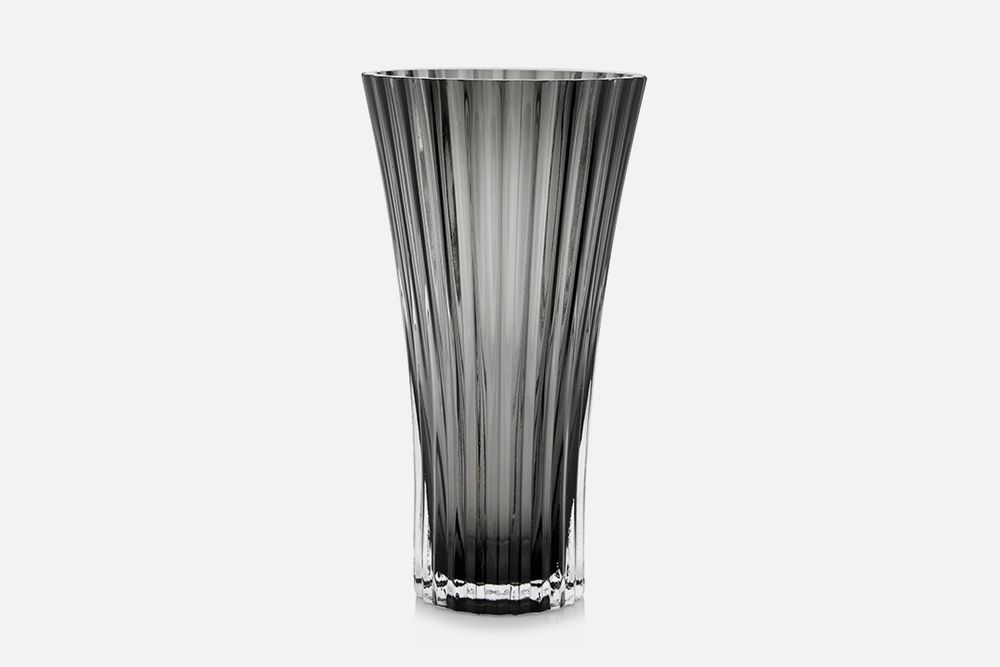 Vase - 1 pcs, 23 cmGlass, greyDesign by Christel og Christer HolmgrenArt. no.: 55206
