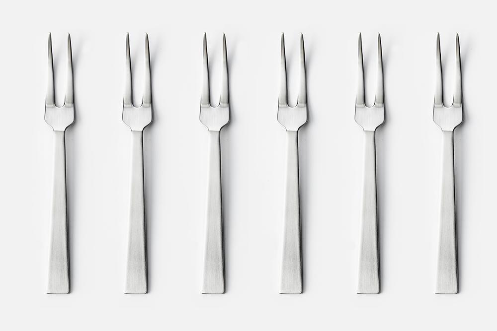 Pålægsgaffel - 6 stkRustfrit stålDesign by Erik BaggerArt. nr.: 30109