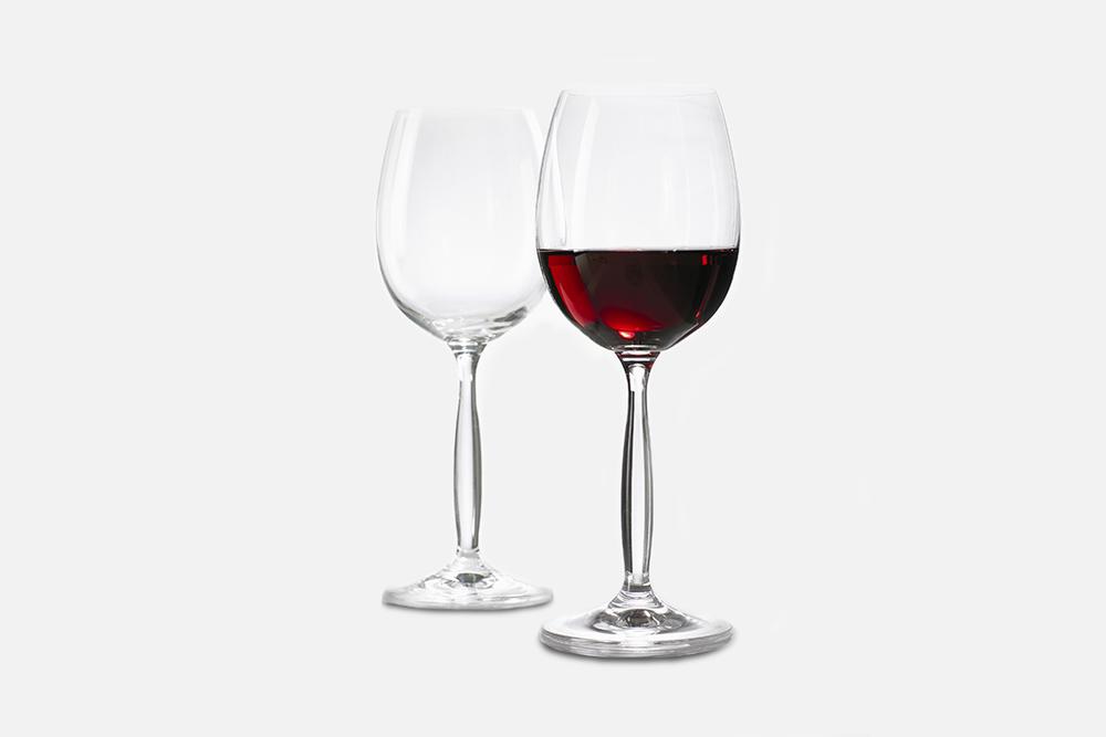 Red wine glass - 6 pcs, 46 clGlassDesign by Erik BaggerArt. no.: 50121