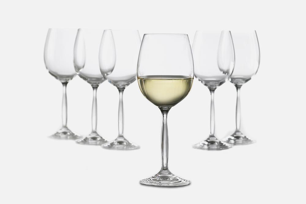 White wine glass - 6 pcs, 37 clGlassDesign by Erik BaggerArt. no.: 50122
