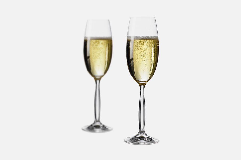 Champagne glass - 6 pcs, 27 clGlassDesign by Erik BaggerArt. no.: 50125