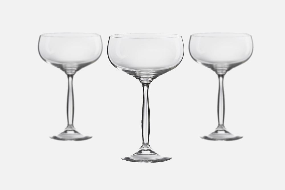 Champagne coupe - 6 stk, 34,5 clGlasDesign by Erik BaggerArt. nr.: 50203