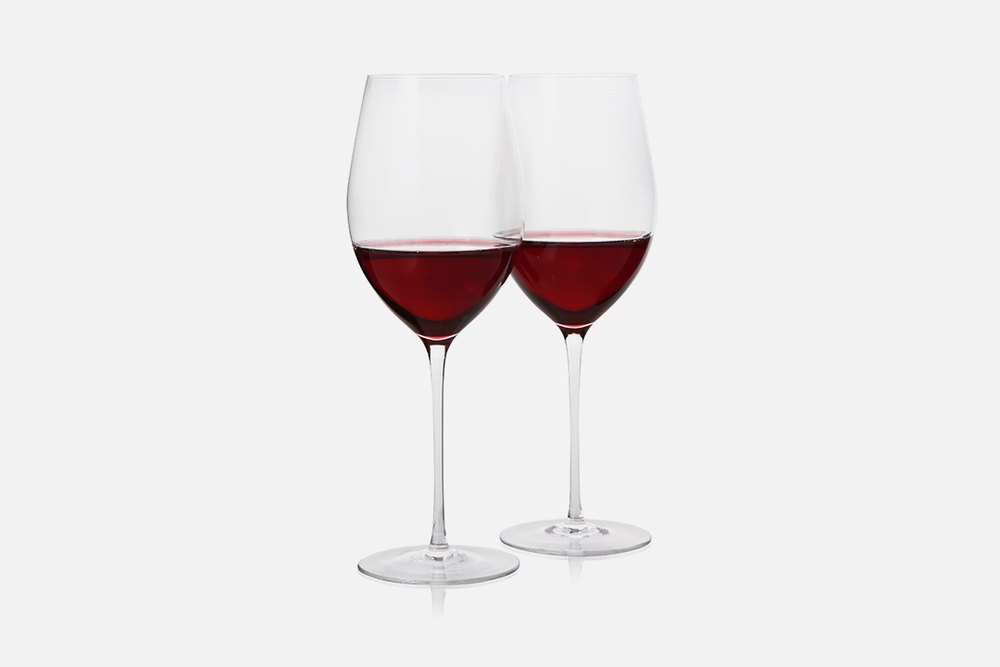 Red wine glass - 2 pcs, 58 clGlassDesign by eb design teamArt. nr.: 90221