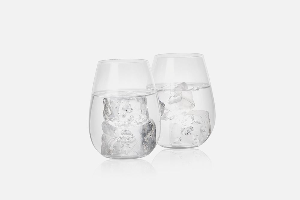 Tumbler - 2 pcs, 33 clGlassDesign by eb design teamArt. no.: 90223