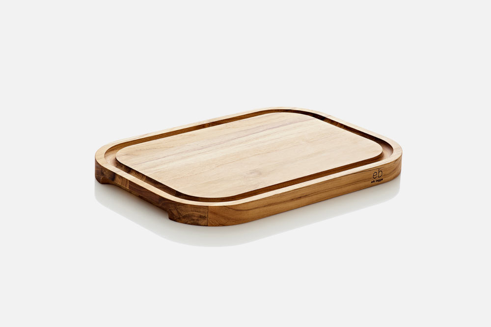 Cutting board - 1 pcs, 40x28 cmTeak, FSC certifiedDesign by eb design teamArt. no.: 58135