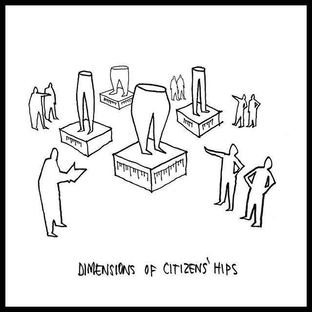 More scenes from the 2018 Venice Biennale, cartoon by Shallow Studio, pulp 56 @jwkleinschmidt @twofeetoncenter #dimensionsofcitizenship