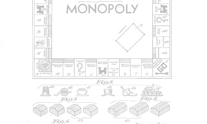 pulp #28: the monopoly house - + comic by james coleman + lane rick on the collage