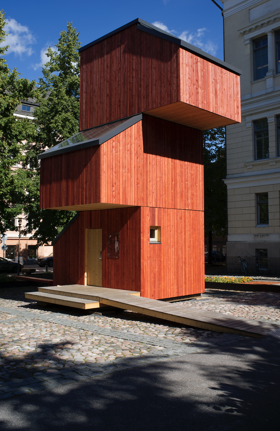All about craft. The Kokoon: an affordable house project done while at Aalto University School of Arts Design and Architecture's Wood Program in Finland.