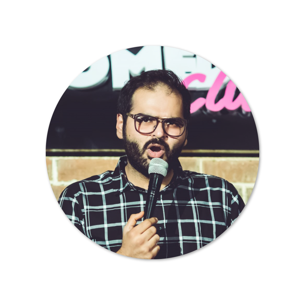 Kunal Kamra - 8pm, December 1Bhaskara Auditorium, Hyderabad
