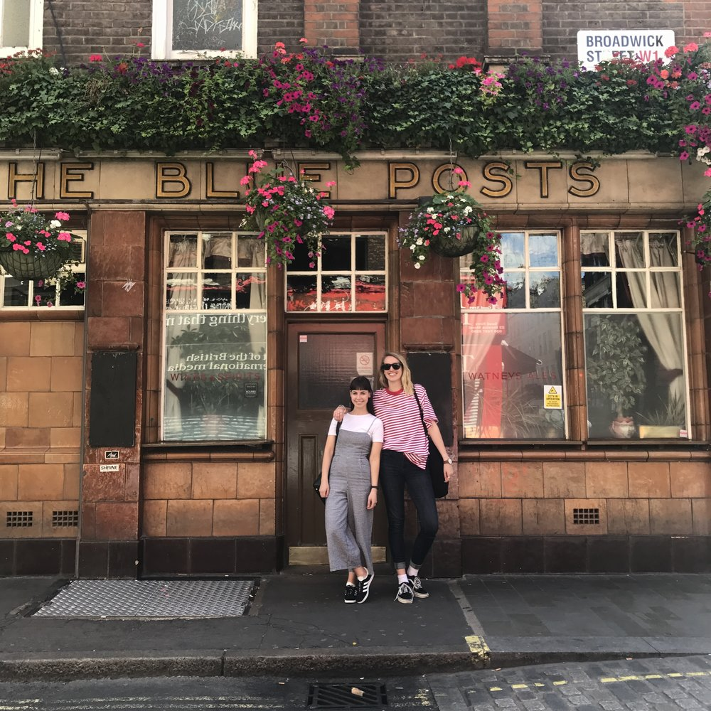6/ Went To London - ... and visited Lucy! London was the first stop on our Europe trip last year, and we definitely didn't spend enough time here. So we are making our way back this year!