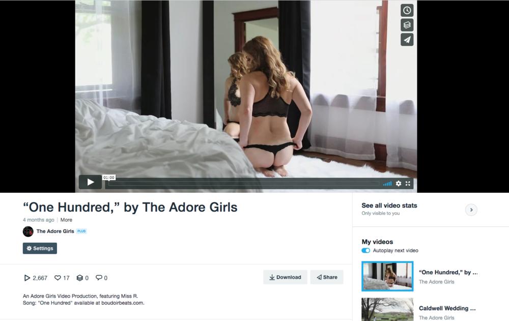 Example Vimeo post.