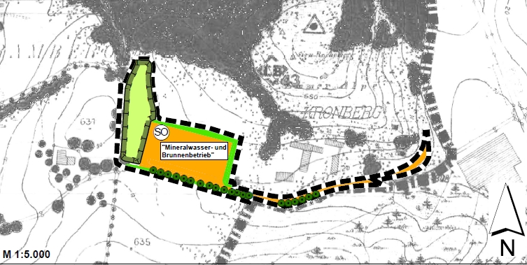Flächennutzungsplanänderung mit integrierter Landschaftsplanung