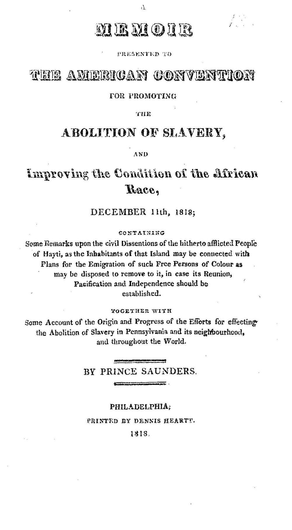 Saunders Memoir on Haiti 1818.jpg