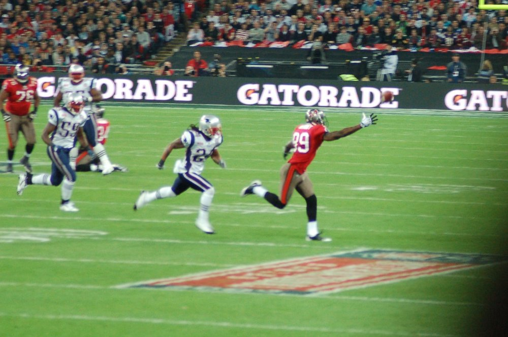 NFL Patriots v Buccaneers Wembly 25th Oct 09 034.JPG