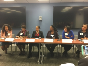 Panel at the March 26th event with WIIS