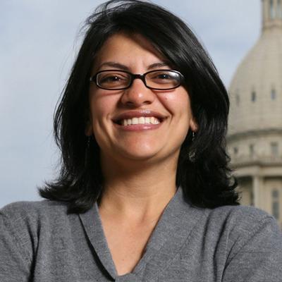 Rashida Tlaib - Michigan, 13th District. House. (D)