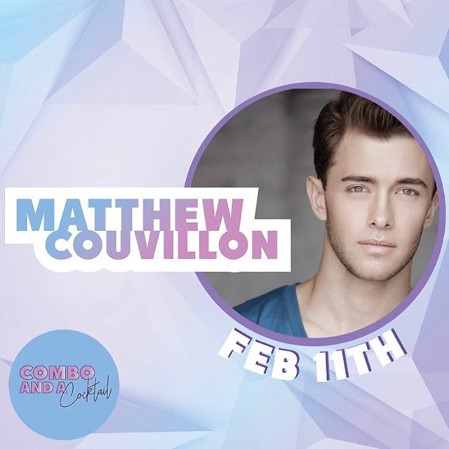 Everyone needs to come dance with us!!! Join @matthewcouvillon at @comboandacocktail this Monday the 11th!