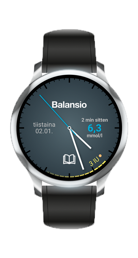 Balansio: Android wear (fin)