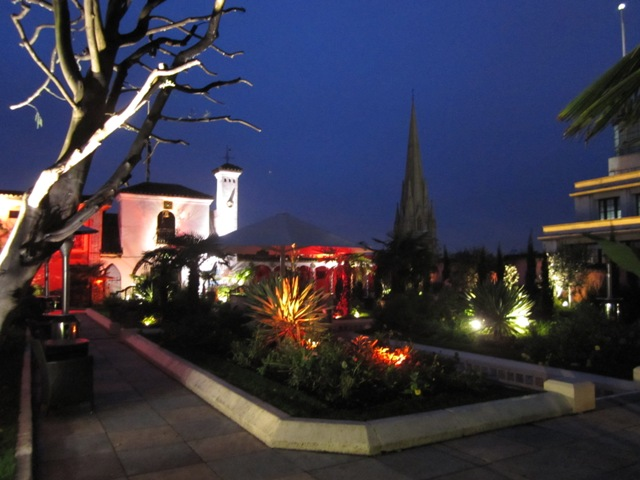 Richard Branson's Kensington Roof Gardens, London