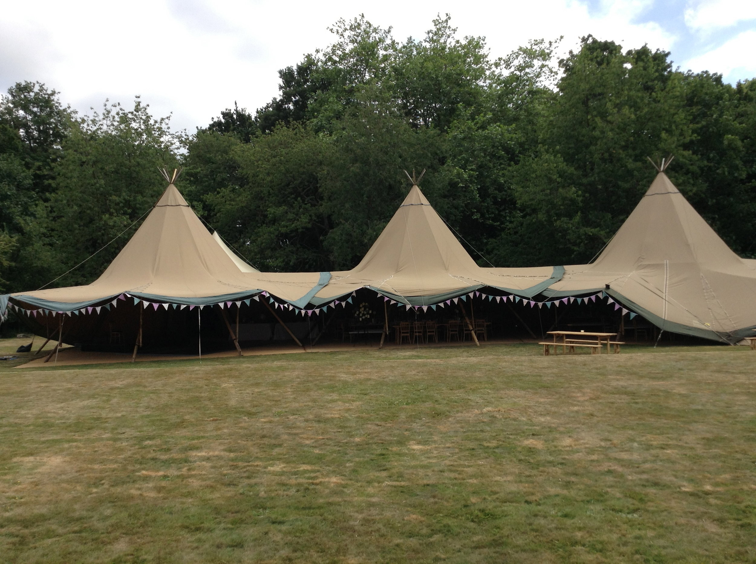 Tent Marquee wedding