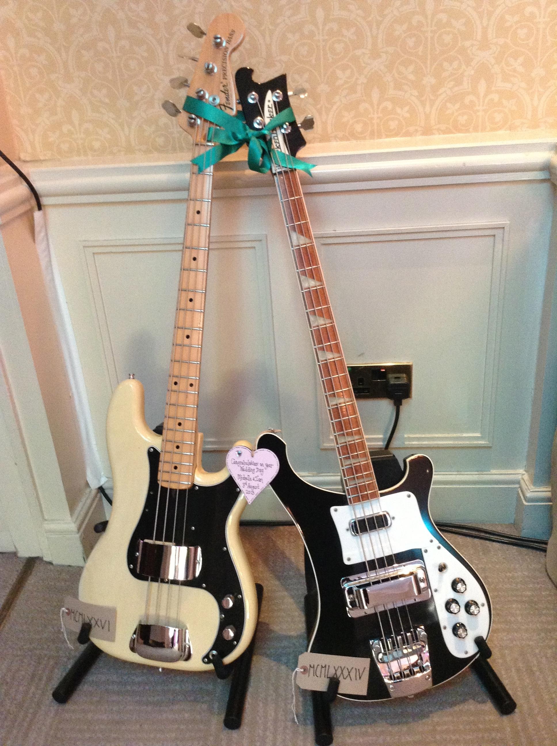 Bass Guitarist's Wedding