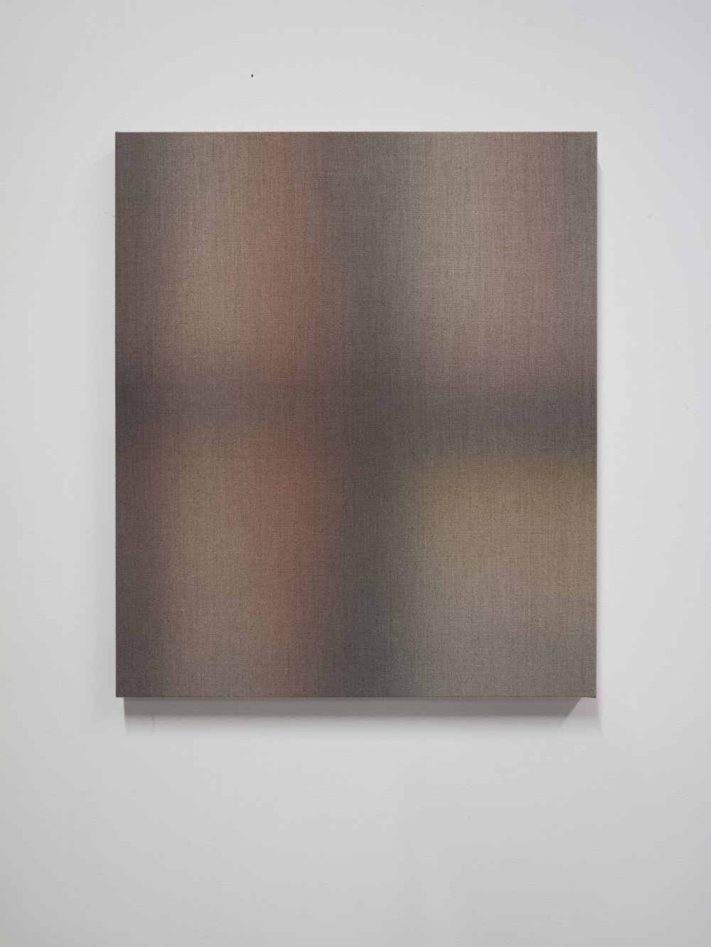 Erlend Grytbakk Wold,  'First Light I',  2018 Watercolor on unprimed linen, 70 x 60 cm