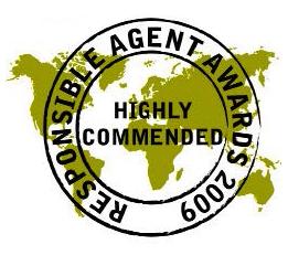 TLB Destinations a remporté le prix de l'agent responsable en 2009 pour son engagement envers le voyage responsable.