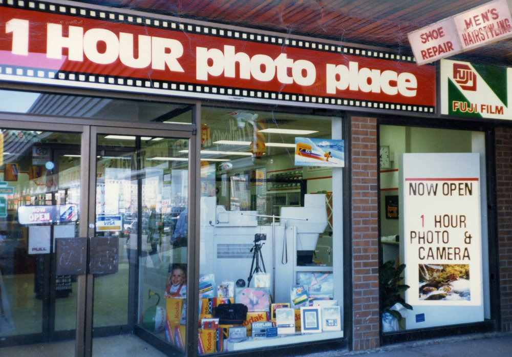 My parents camera store.