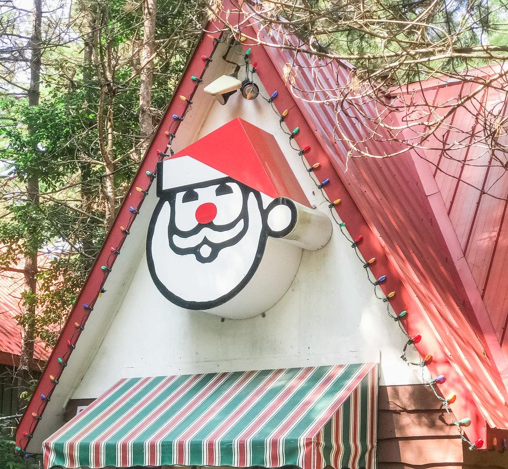 Santas Village Entrance