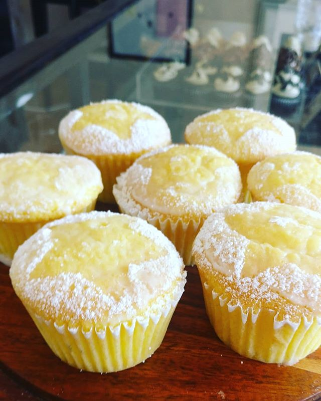 Keylime cupcakes available all weekend! #keykey