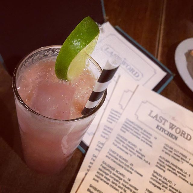 Thanks for #hosting @thelastwordbar. Always a pleasure #craftedmixology #a2engage #justdontcallitnetworking