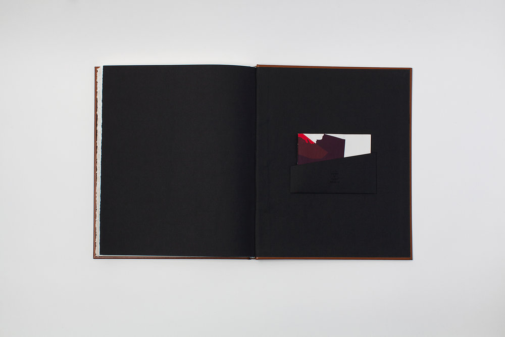 Each copy of the book includes a one-of-a-kind bonus pamphlet made from test prints.